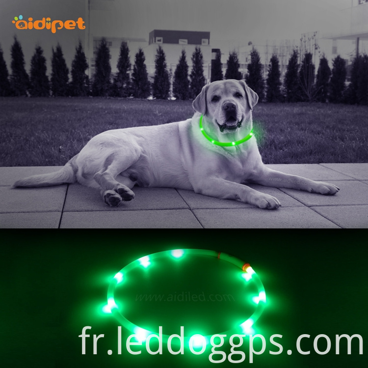 Waterproof Tube Led Dog Collar