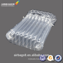 Low price inflatable air bubble plastic packing bag for toner cartridge