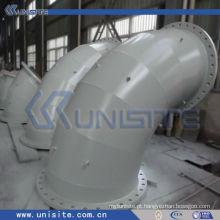 Tubo de aço de parede dupla de alta pressão para draga (USC-6-008)