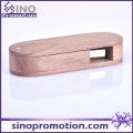 Custom Creative Mahogany Wood Rotate USB Flash Drive