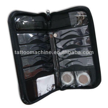 Perfect Brow Stenciling Kit- Leather case