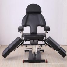 Lit de tatouage multifonctionnel hydraulique chaise de tatouage
