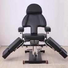 Multifunktionale schwarze Tattoo-Stühle / Tattoo-Betten