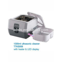 high quality digital 1.3L tattoo sterilizer machine LED display ultrasonic cleaner machine TTKS008