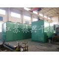 Sécheur de courroie à couche unique industriel à air chaud pour granulés Matériaux