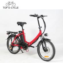 Buntes elektrisches Fahrrad-faltendes Feld 20 Zoll-Last, die a2b elektrisches Fahrrad-Fahrrad des Fahrrad-E trägt