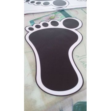 3d Floor Custom Waterproof Vinyl Stiker