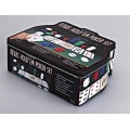 Casino Style Texas Hold'em Poker Chip Set 200 Pcs
