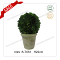 H22cm Tree/Ball Plant Type and Natural Leaves Artificial Plant