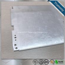 Tuyau en aluminium plat supraconducteur composite pour le chauffage