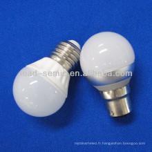 Chine fabricant e27 candélabre ampoule LED