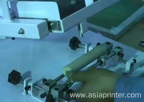cylinder surface manual operation screen printer