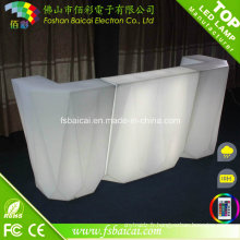 Restaurant LED Light Bar Counter Design moderne