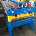 Corrugated iron sheet making machine