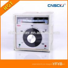 El TEA se ajusta a la gama de volúmenes que indica el regulador de temperatura digital