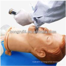 Modelo de treinamento de intubação para adultos multi-funcional ISO, modelo de intubação da via aérea