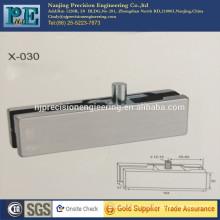 standardard customized stainless steel fabrication glass door top clamp