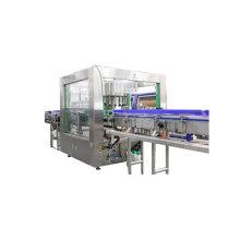 Máquina de fixação de etiqueta OPP para garrafa de óleo comestível