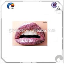 Etiqueta engomada modificada para requisitos particulares de alta calidad del tatuaje de los labios especializada en la decoración
