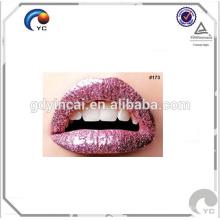 Высокое качество Подгонянные губы татуировки наклейки в специализированных украшение