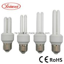 2U 5W, 2U 11W 7W lâmpada de poupança de energia