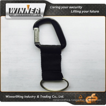Hot sale beautiful carabiner keychain/carabiner hook/carabiner with logo