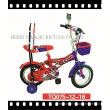 Vélo populaire d'enfants de sécurité de 12inch avec la roue d'entraînement (TQ075)