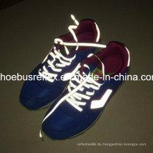 Reflektierende Schuhe Band