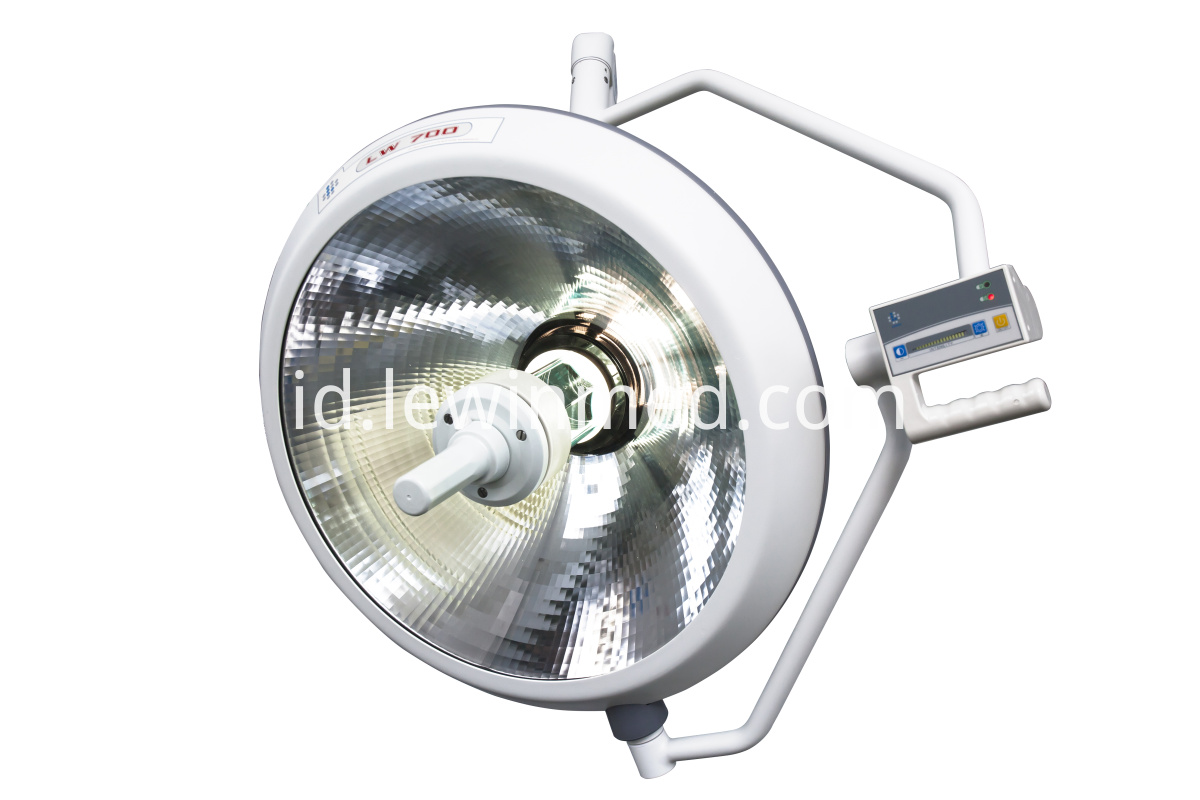 Easy to operate halogen lamp
