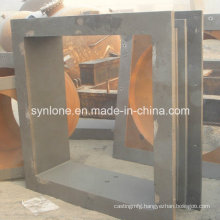 Big Size Steel Casting Part Thimble Wall