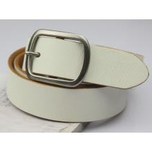 Ремень мужской кожаный ремень белый пояс