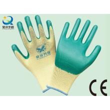 13G Nitril Polyester Shell, Nitril beschichtet, Arbeitshandschuhe (N6010)