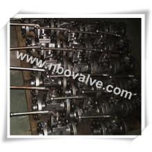 """Válvula de ligação lubrificada NPT de 1500 lb (P4N-8 """")"""