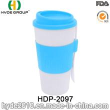 Taza de café plástica promocional del nuevo estilo 2016 (HDP-3000)