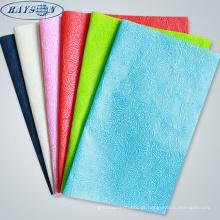 materiais de embrulho de buquê de flores de tecido não tecido em relevo