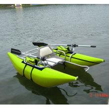 PVC 1 Person aufblasbare Pontonboot Fliegenfischen