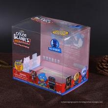 Competitiva PVC / PET caja de embalaje de plástico China fabricante con impresión