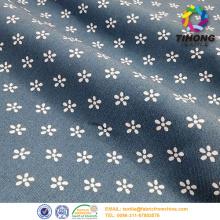 printed cotton denim fabric