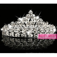 hot sale crystal fashion metal princess crown