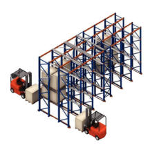 Various Sizes Practical Stackable Pallet Warehouse Racking