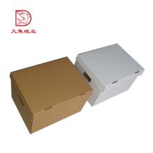Boîte en carton ondulée de lingerie personnalisée recyclable