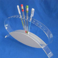 Soporte de exhibición de acrílico al por menor para la pluma, soporte de exhibición de acrílico del estallido