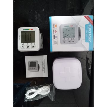 Electronic digital audio sphygmomanometer