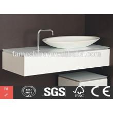 white plastic bathroom cabinets China New design white plastic bathroom cabinets
