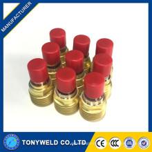 Objectif à gaz de soudage tig 45v42 de torches de soudage wp9 / wp20 tig