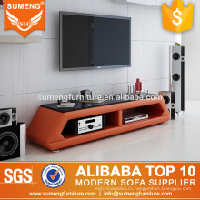 2017 турецкая мебель для гостиной деревянный оранжевый подставка для телевизора