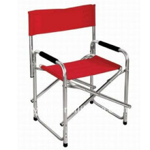 Folding aluminum chair for director
