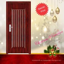 porta do quarto moderno de madeira simples