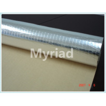Aluminum foil reinforced PE insulation for glass wool,rockwool etc.