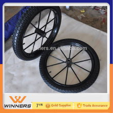 2015 neumático de la rueda del carro del carro del mini caballo
